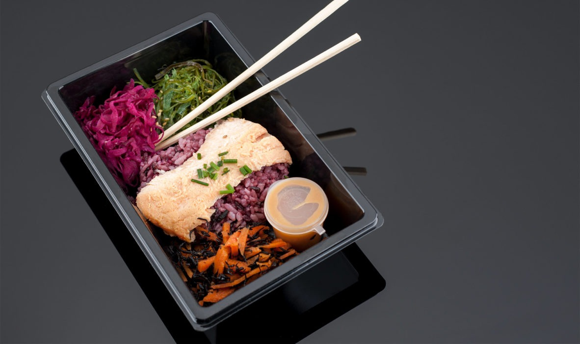 Taiko Miso Salmon Bento Box