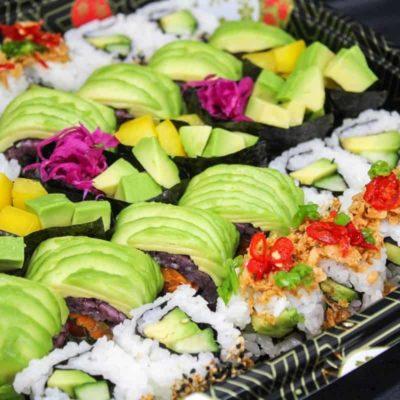 Mai Taiko Vegetarian Sushi Platter